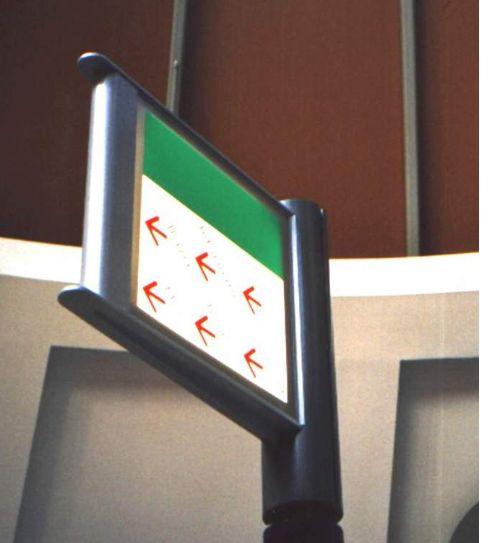 Verlichting pylonen wc zuidplein time lichtreclame adviesbureau for Wc ontwikkeling